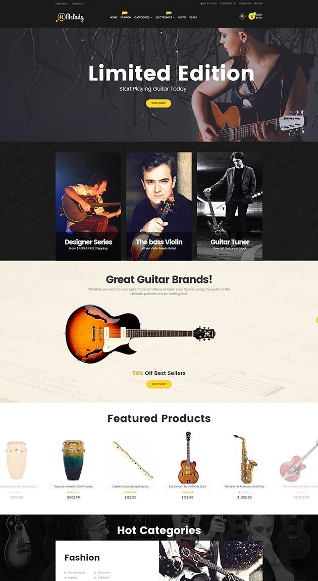 Dizainas muzikiniams instrumentams ir ne tik