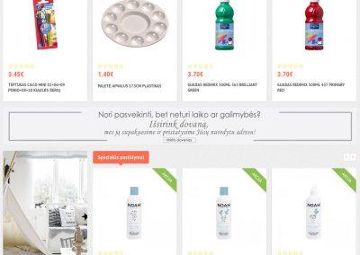 www.bemsis.lt - el. parduotuvė sukurta mūsų mažyliams
