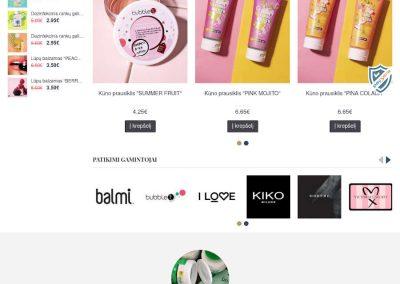 The Beauty Loft – originalių grožio prekių ir ne tik el. parduotuvė